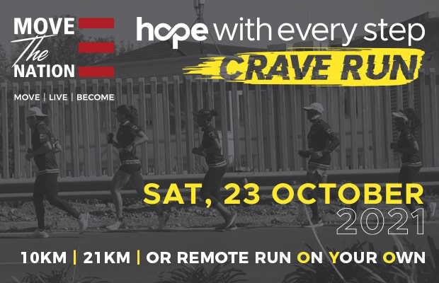 Hope With Every Step Crave Run 2021